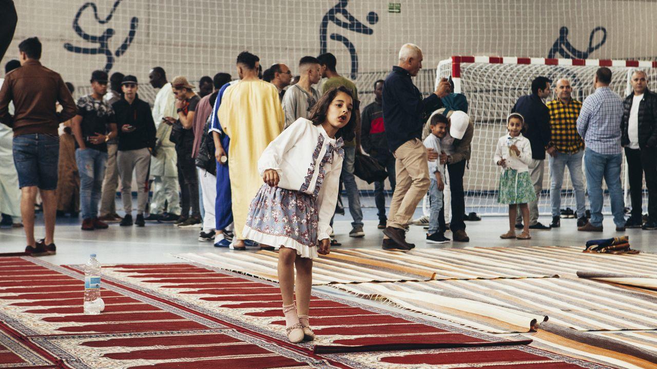 Fiesta del fin del Ramadán en Oviedo