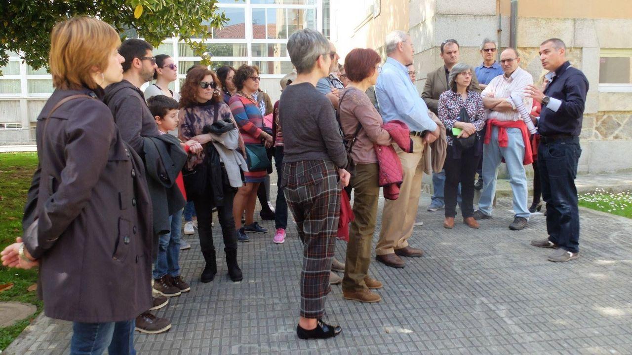 La aportación de la Xunta también servirá para organizar actividades de promoción del campus, como el programa de visitas Ferrol Universitario (en la imagen)