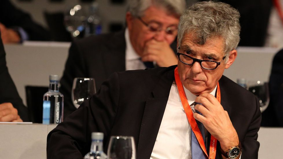subastash.Gorka Villar, hijo del presidente de la Federación Española de Fútbol, Ángel María Villar