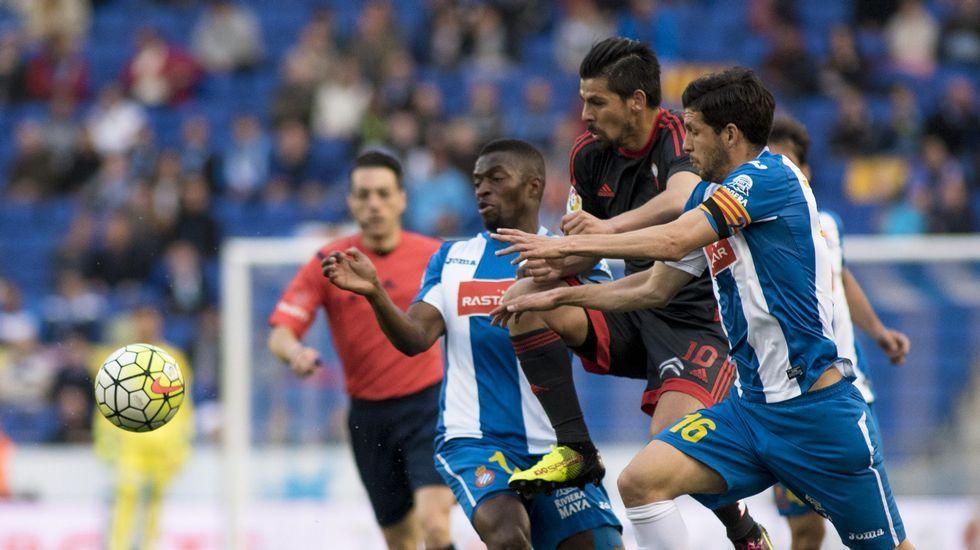 El Espanyol-Celta, en fotos
