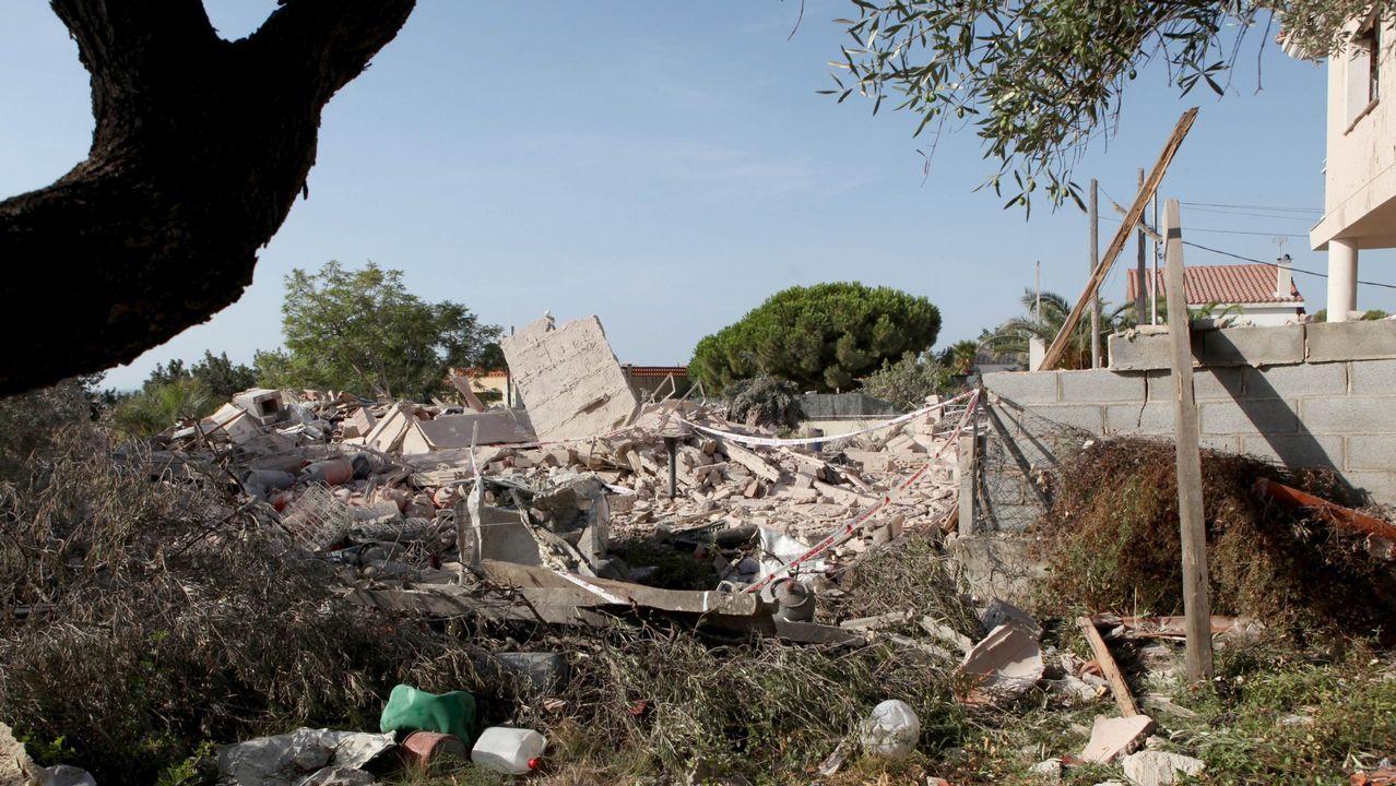 .Los mossos han hallado sustancias entre los escombros de la casa de Alcanar que se usan para elaborar «la madre de Satán».