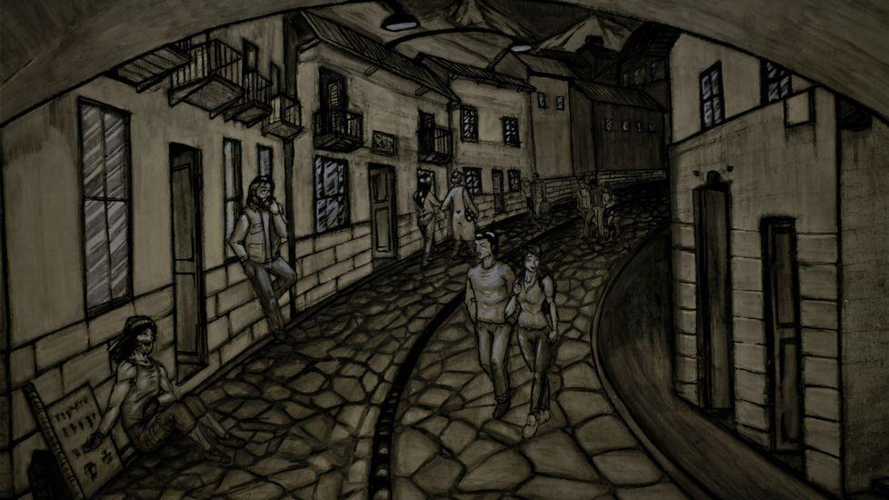 Relatos y Caminos: Capítulo 3.La puerta de La Ronda en Quito (Ecuador)