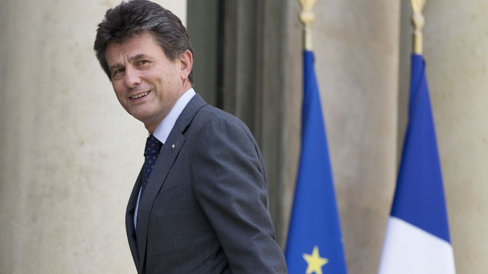 .El presidente de la aseguradora Axa, Henri de Castries
