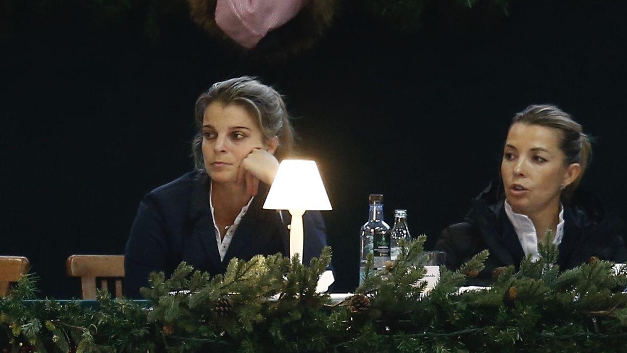 Athina Onassis participa en la competición que alberga el club hípico de su gran amiga Marta