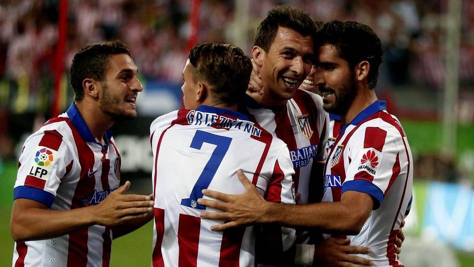 Simeone y los pitos en el Calderón.Welbeck, el último en moverse