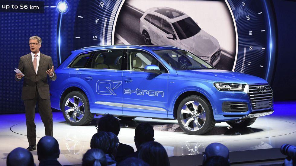 Audi presentó otro modelo eléctrico, el Q7.