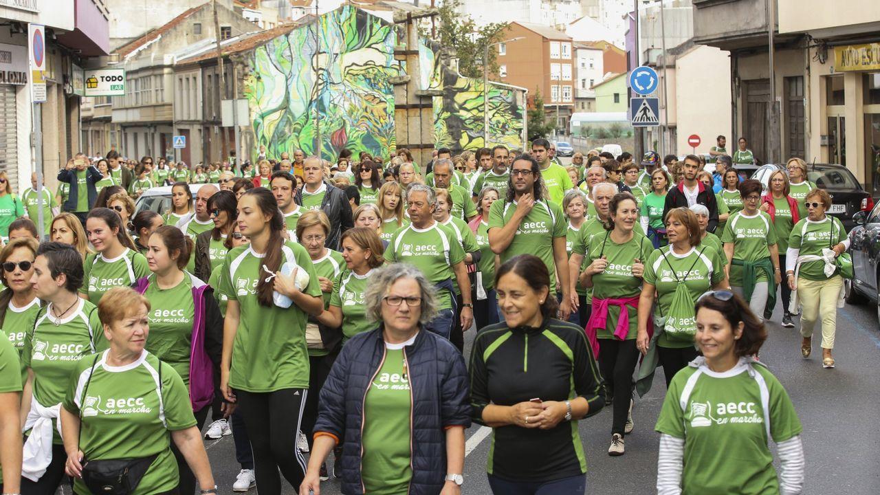 Así fue la segunda andaina solidaria contra el cáncer en Carballo. ¡Mira las imágenes!