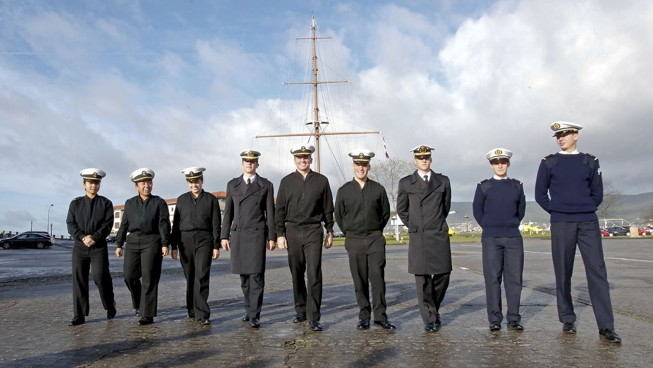 Submarino entrando en Marin