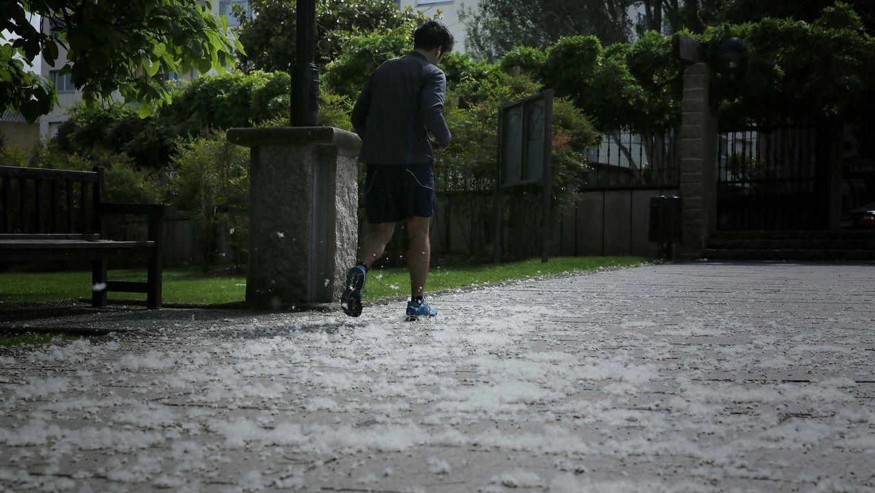 Un recorrido por los desperfectos del parque municipal