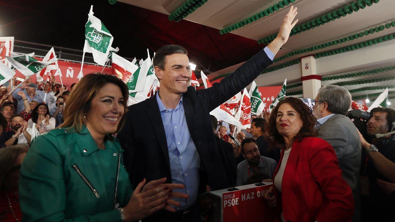 Jordi Sánchez cree que el PSOE aceptará el referéndum.El presidente de VOX, Santiago Abascal