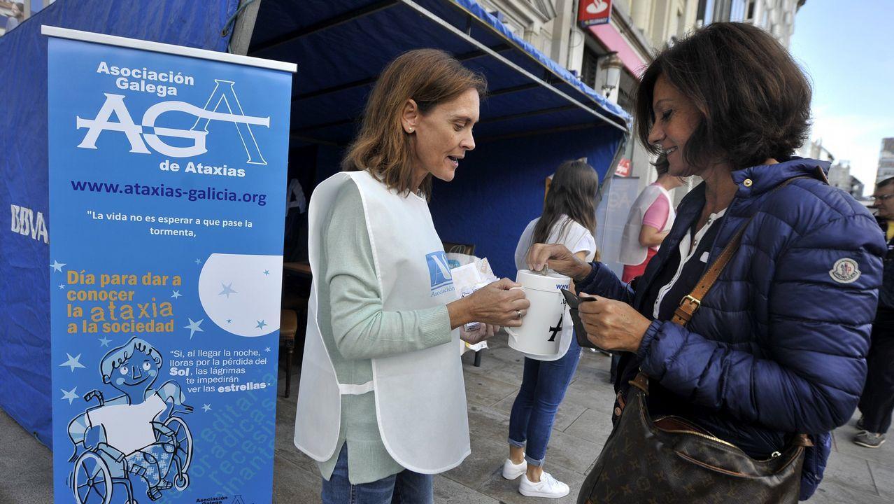.Campaña por el día internacional de la ataxia