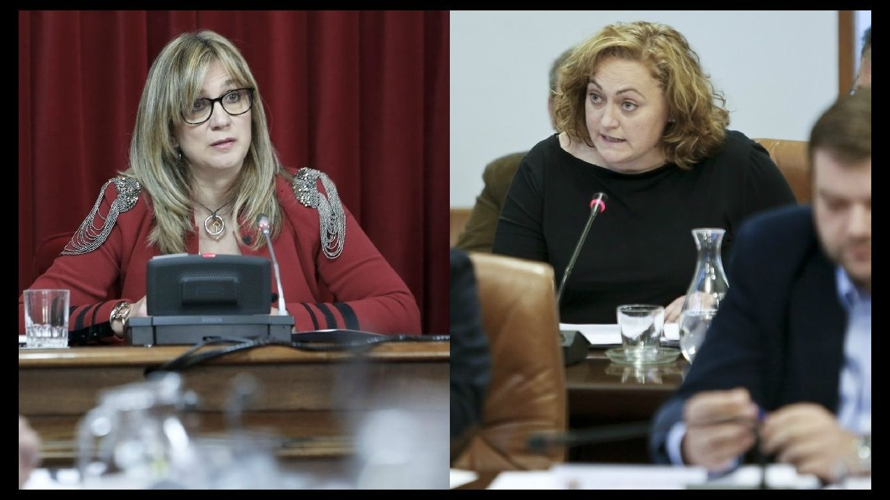 La oposición cuestiona los resultados del CIS.Albert Rivera y Joan Mesquida, hoy, durante la presentación de este último a las primarias de Ciudadanos en Baleares