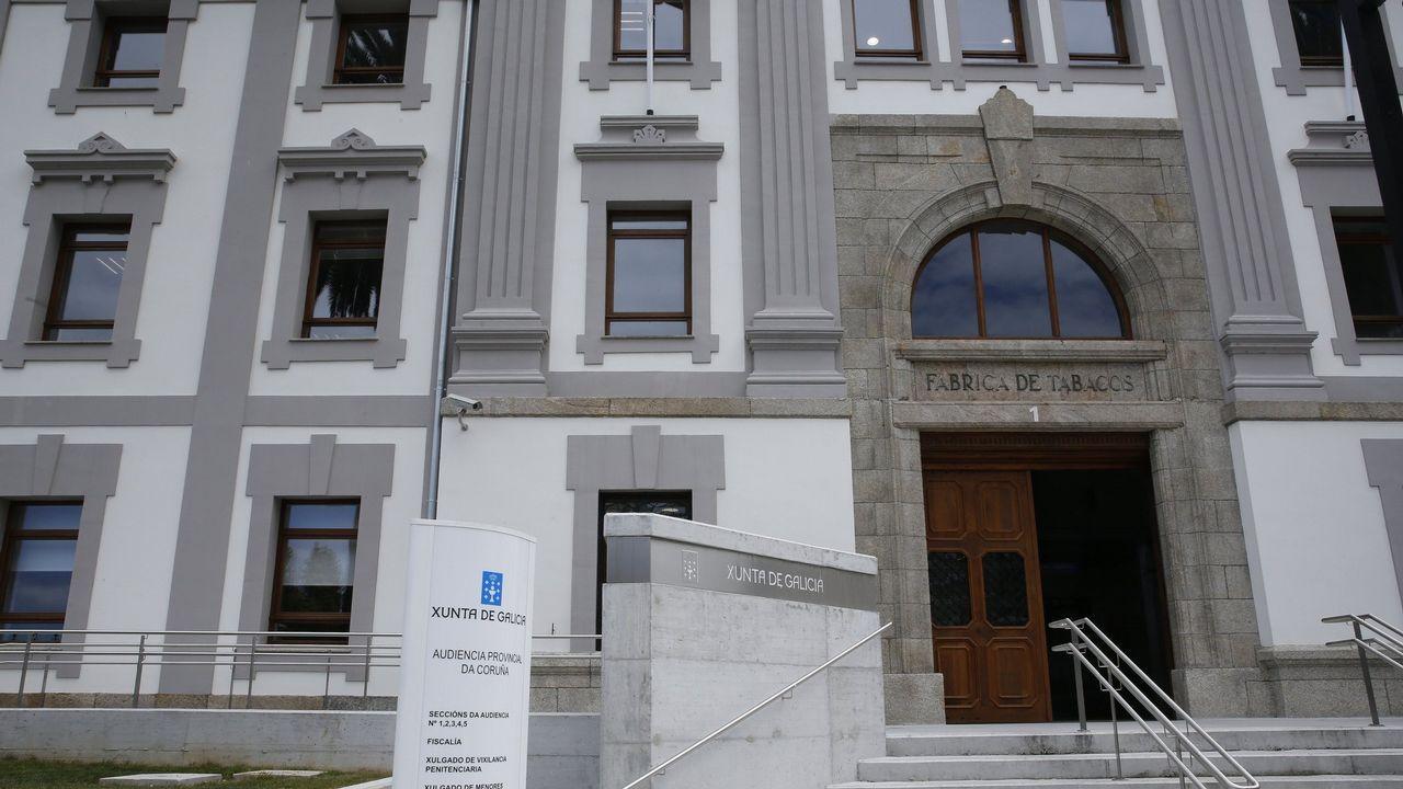 Palacio de Justicia del Principado de Asturias.Comisaría de Policía de Gijón