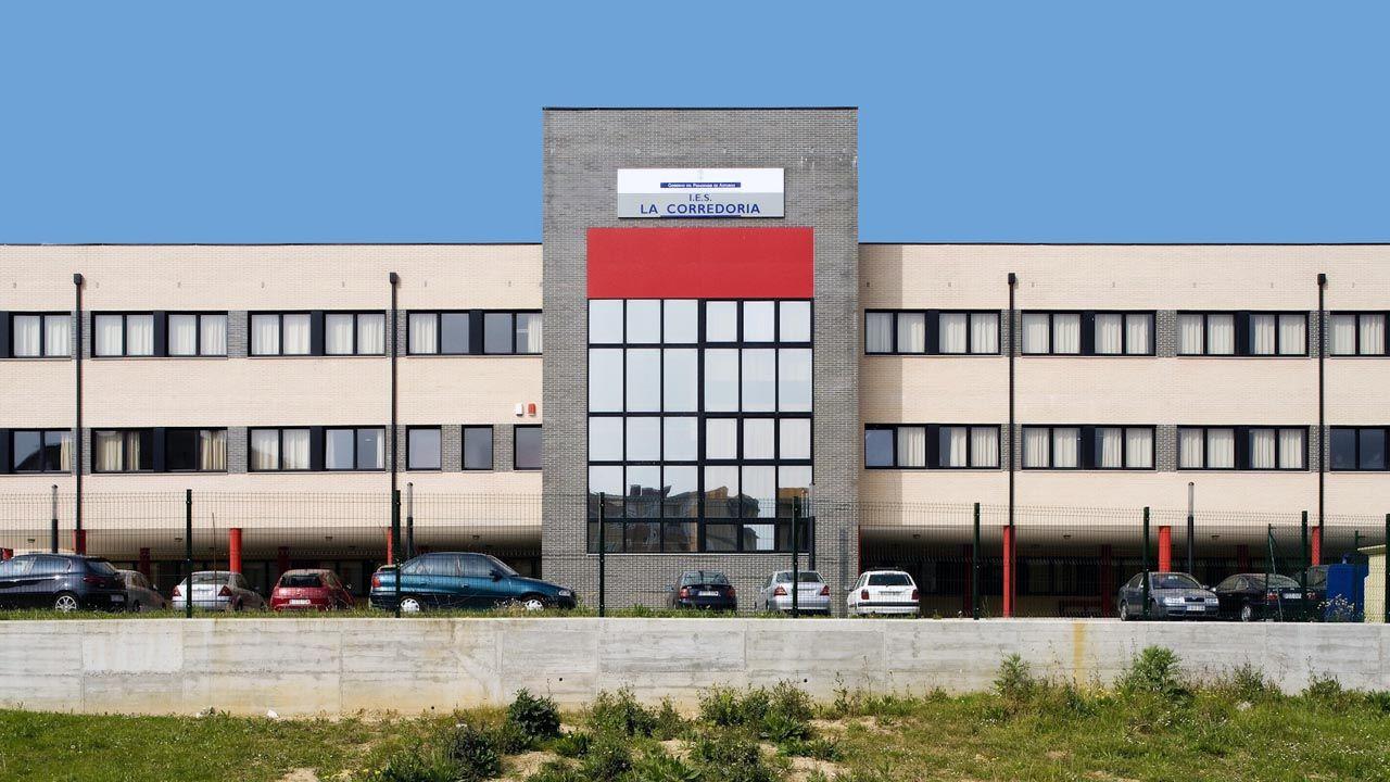 El instituo de Secundaria de La Corredoria (Oviedo).El instituo de Secundaria de La Corredoria (Oviedo)