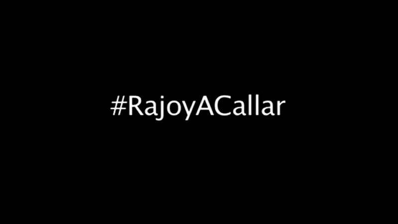 #Rajoyacallar