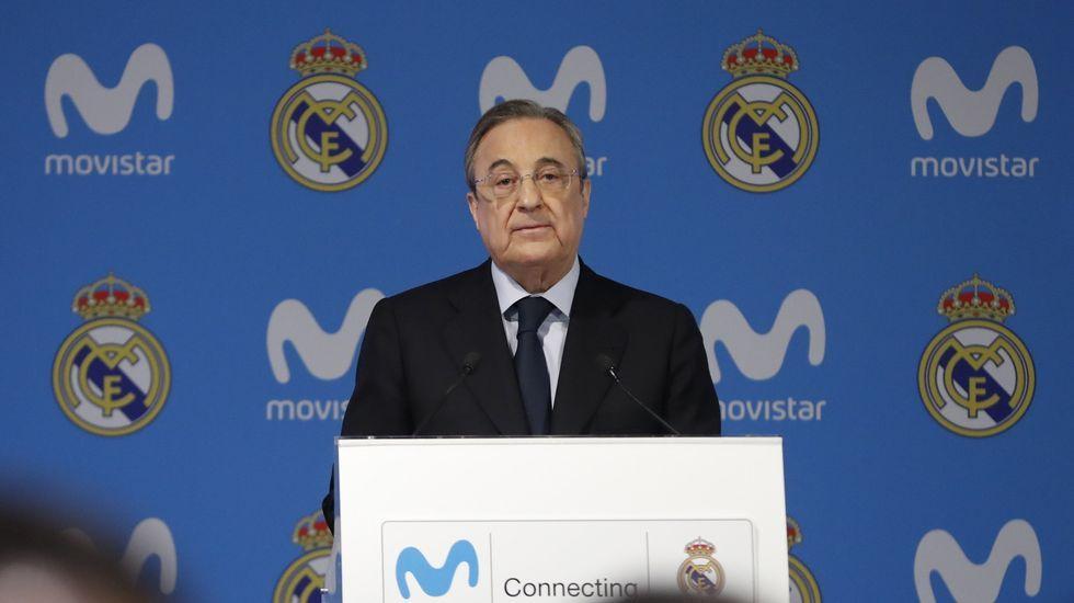 Florentino Pérez responde a las polémicas declaraciones de Piqué.Marcelino Fernández, consejero ACS