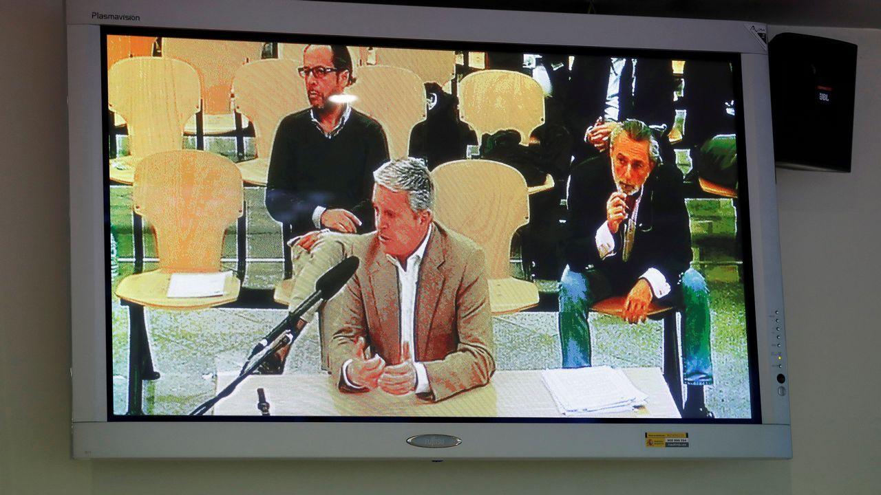 Declaración de Pablo Crespo, hoy en el juicio