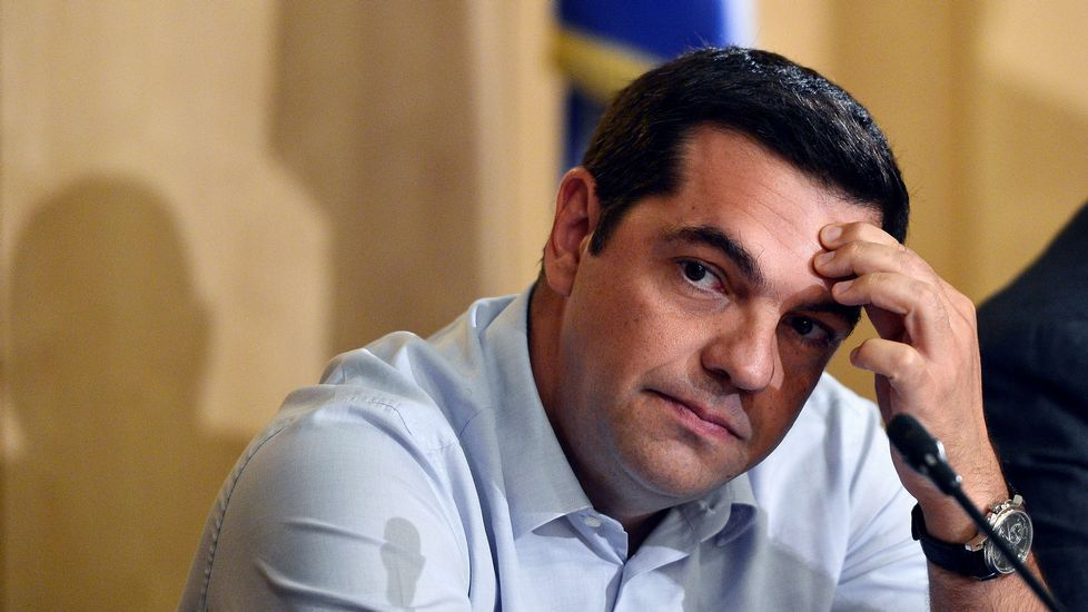 La nueva primera ministra provisional de Grecia, Vasilikí Zanu.
