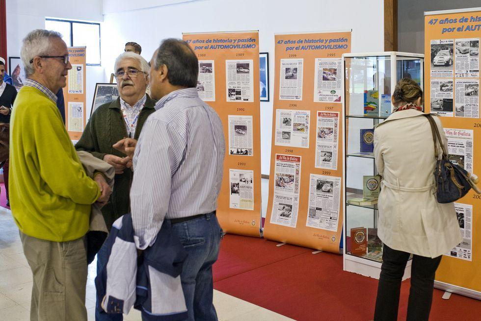 Ferrol trae el nacional de ralis a Galicia.Algunos de los presentes recordaron los viejos tiempos.