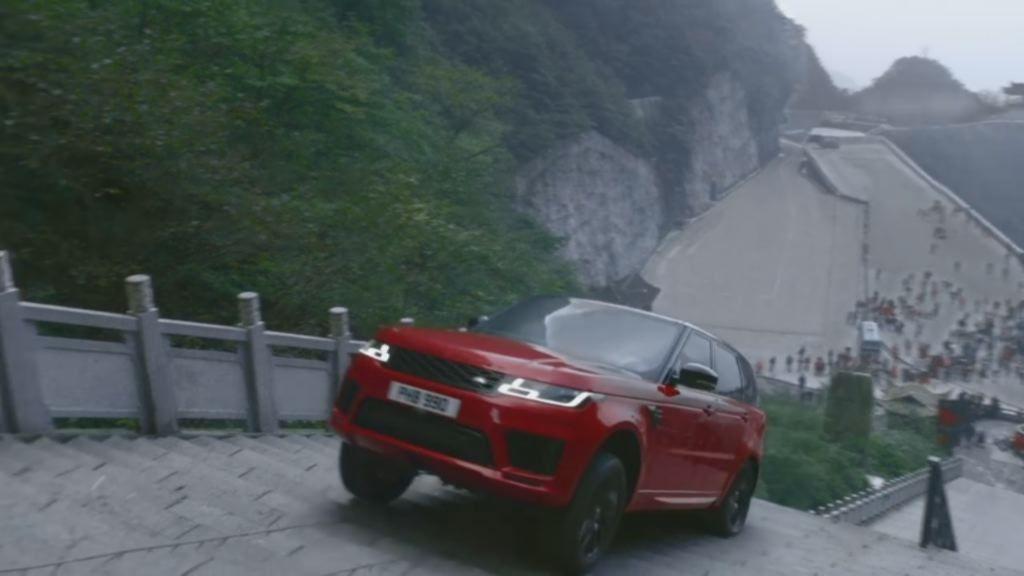 La «tortura china» del nuevo Range Rover.