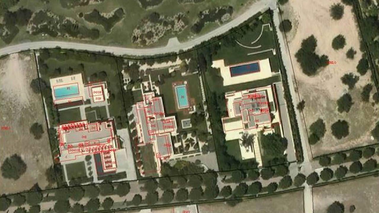 El Catastro utiliza drones, imagenes de satélite y Google Maps para aflorar piscinas.