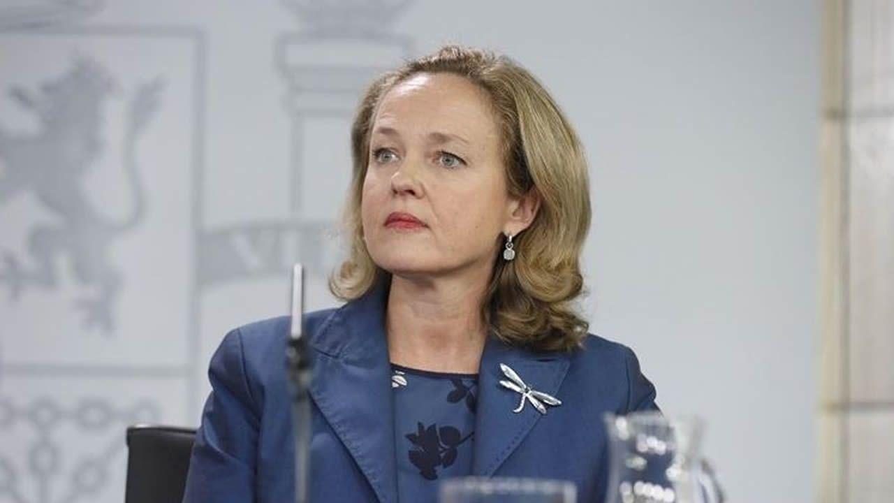 Nadia Calviño, ministra de Economiá