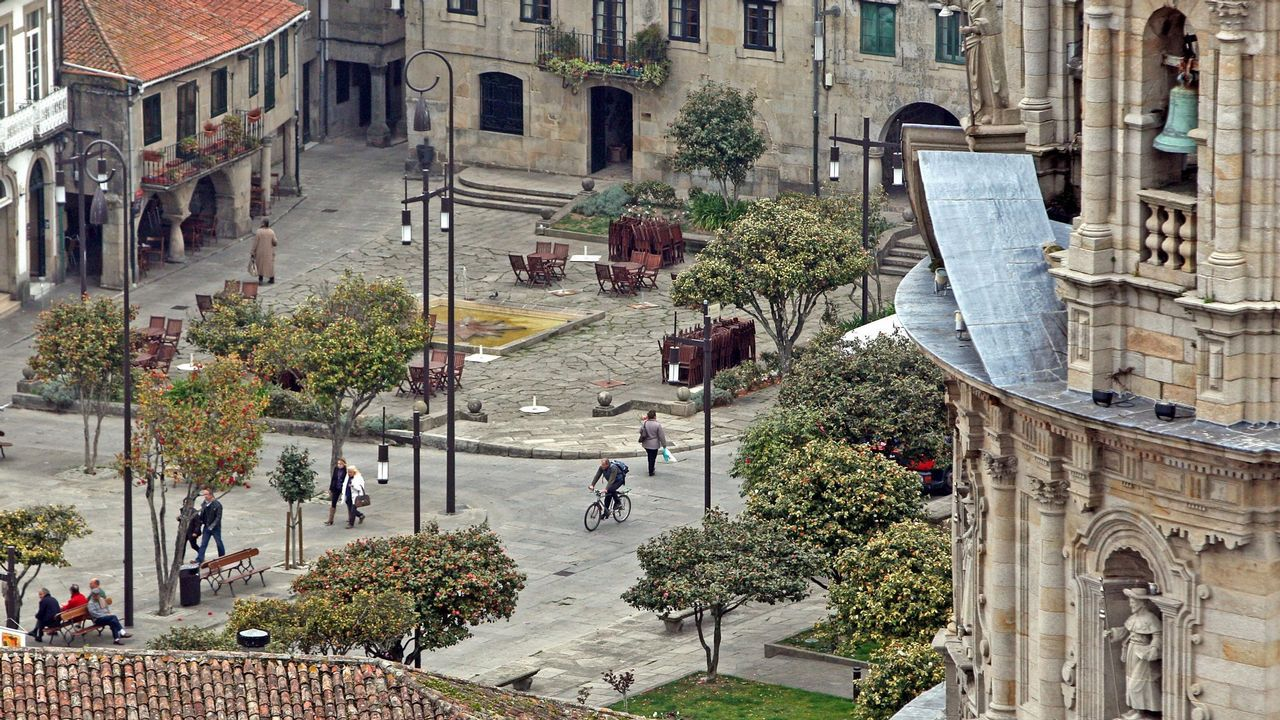 Pontevedra quiere más zonas peatonales de las que tiene