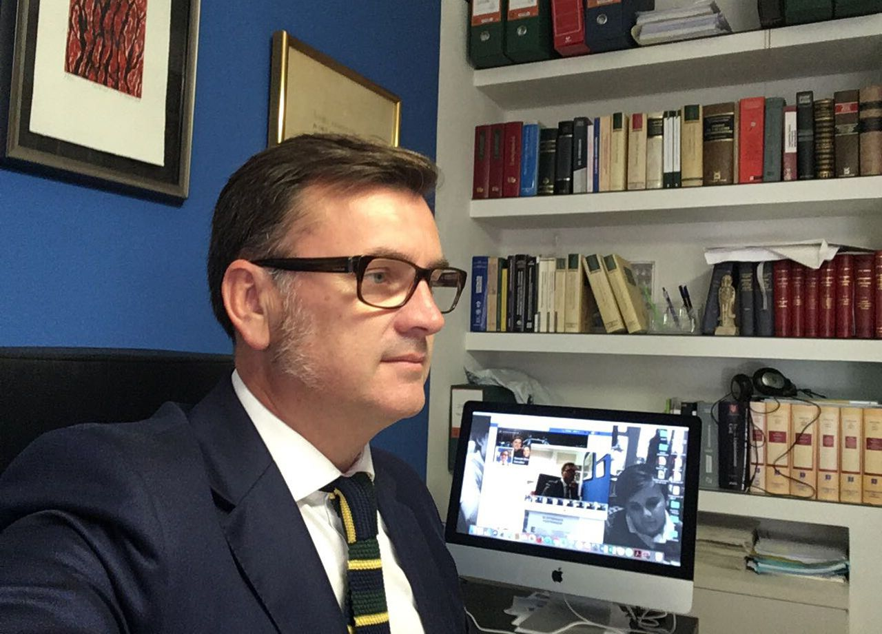El abogado Gonzalo Botas