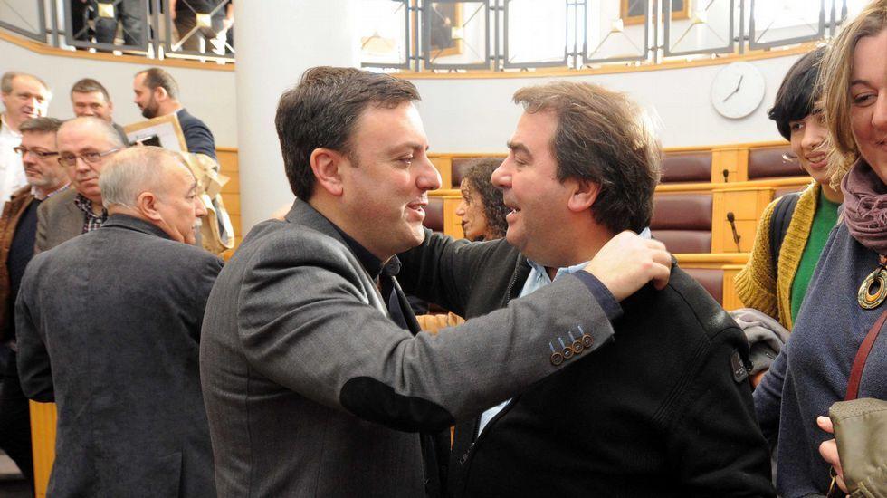 García Seoane trató de exterminar a tiros la avispa con el rostro de Diego Calvo.