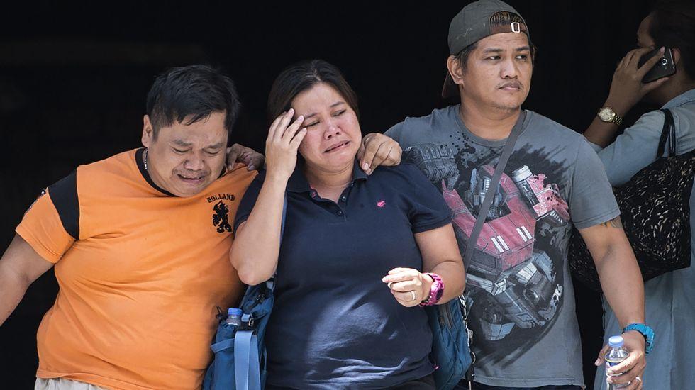 Infinity, el juego pontevedrés que triunfa en medio mundo.Familiares de las víctimas del asalto en el complejo hotelero de Manila