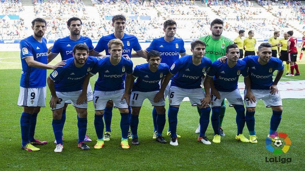 El 1x1 del Oviedo-Mirandés.Once del Real Oviedo frente al Mirandés