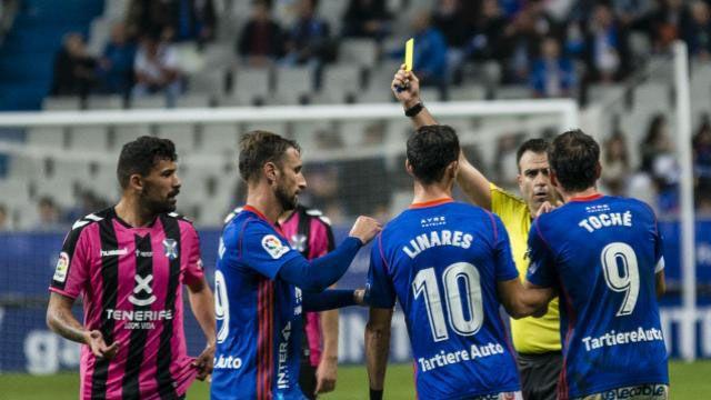 .Linares en el Oviedo-Reus