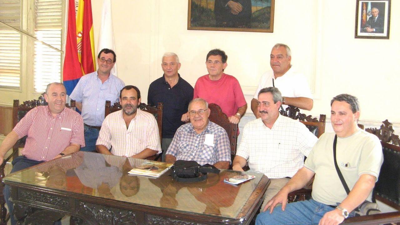 Asamblea de afectados de Lácteos Pérez, celebrada a principios de octubre