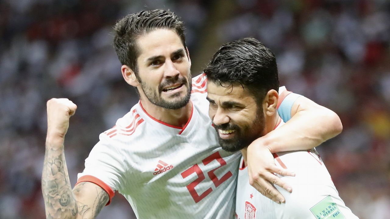El Irán - España en imágenes.