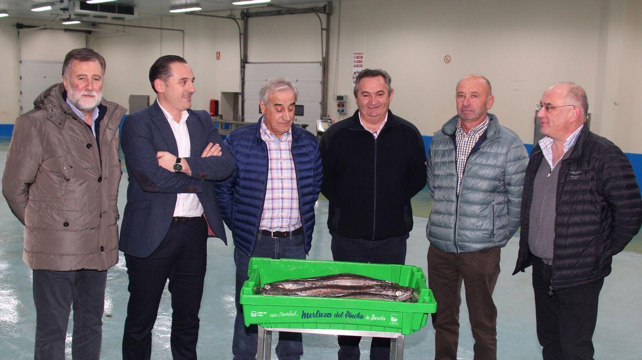 Pierrot Rougier, Ugia Pedreira y Abel Pérez