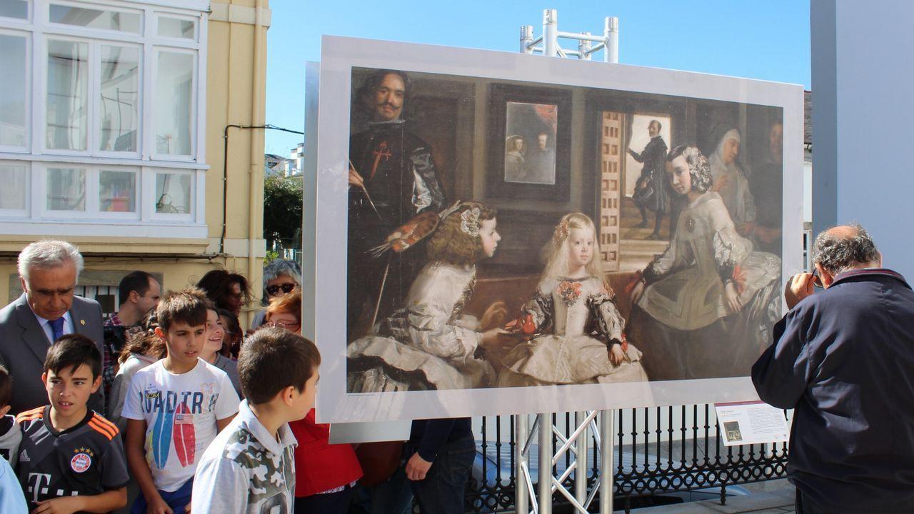 """Museo Arqueológico.Detalle del mastín que ocupa un primer plano en el cuadro """"Las Meninas"""" o La familia de Felipe IV, de Velázquez (1656), Museo del Prado"""