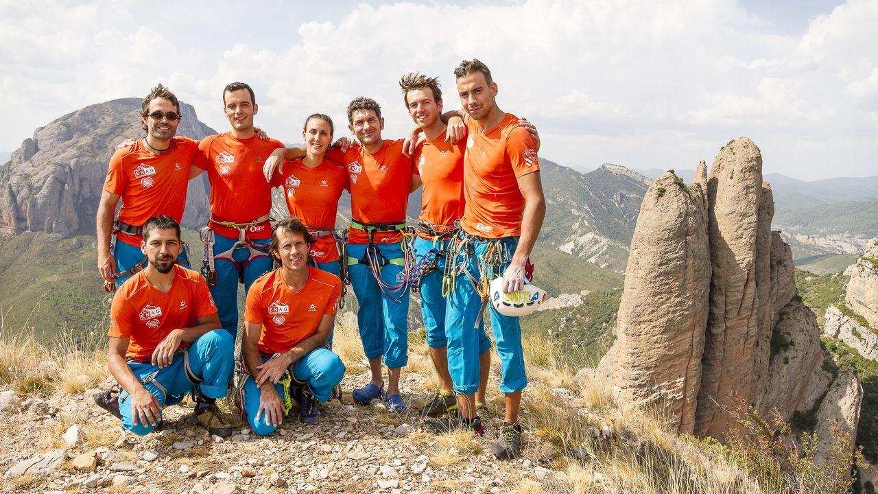 Rescate de montaña en Cabrales
