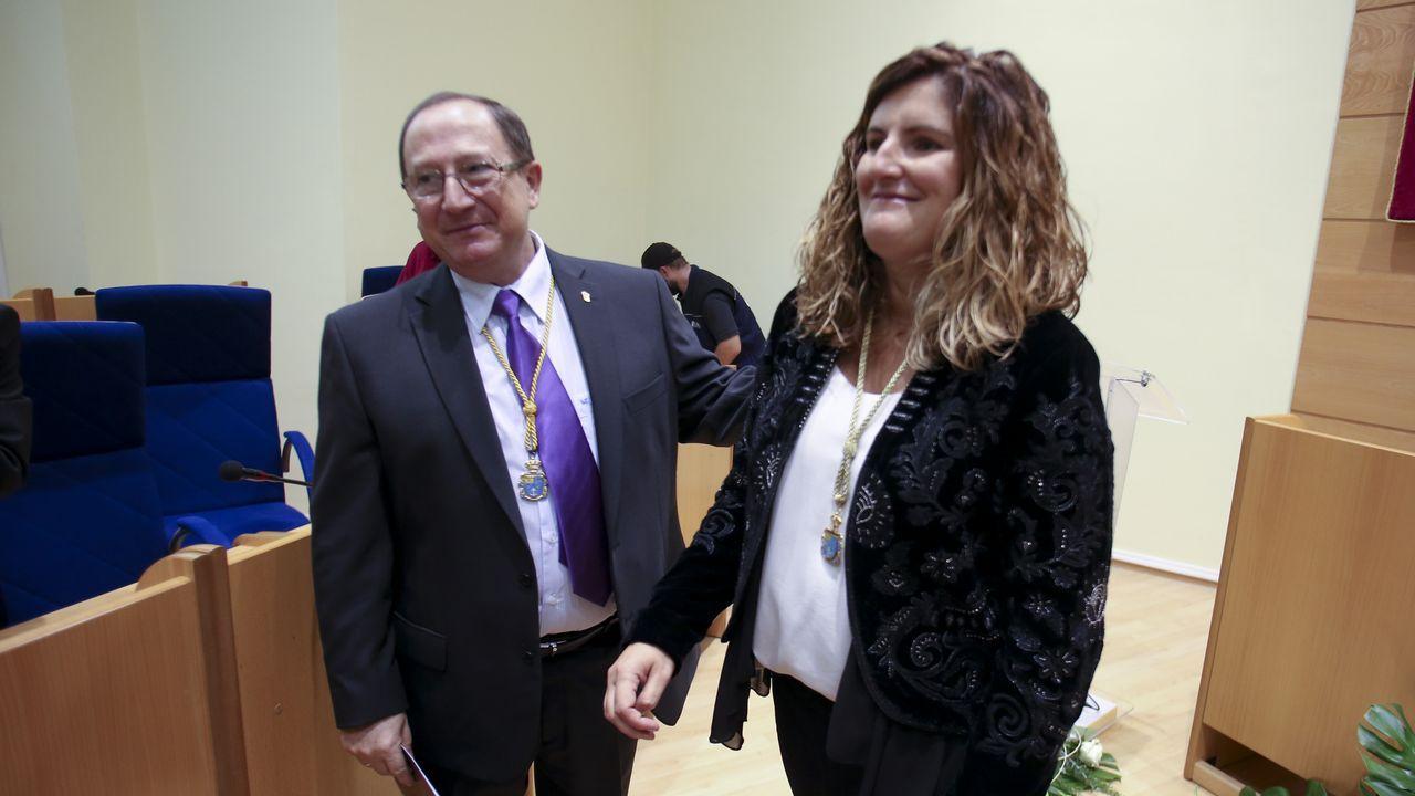 Marián Ferreiro, primera alcaldesa de Narón.