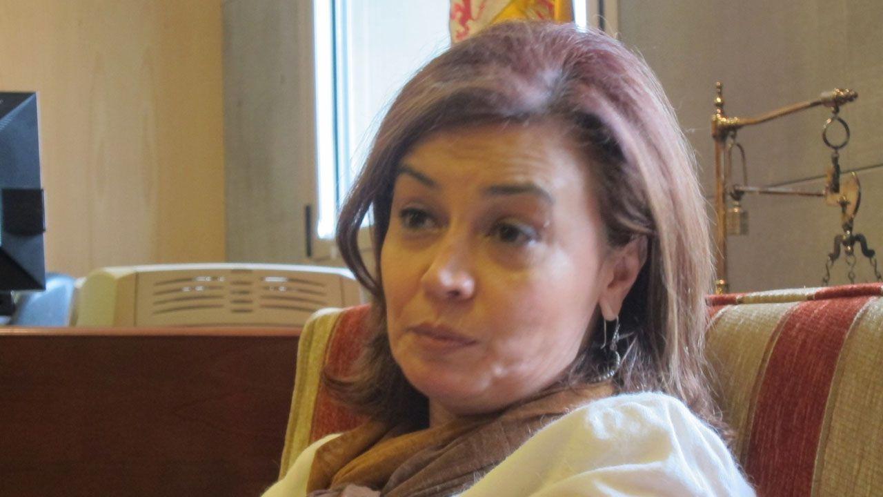 En directo: el Gobierno explica el pacto presupuestario con Podemos.Esther Fernández, Fiscal Superior de la Fiscalía del Principado de Asturias