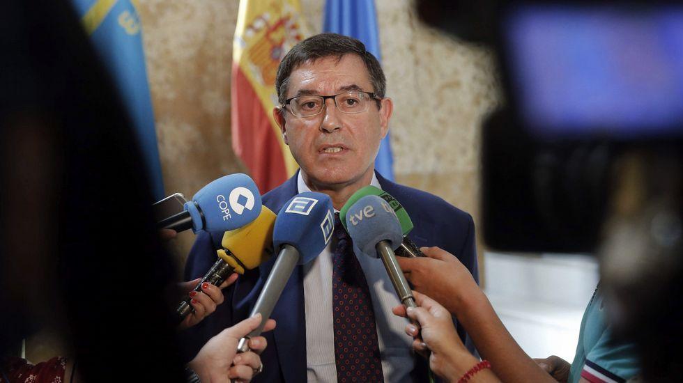 El presidente del grupo Euskaltel, Alberto García Erauzkin