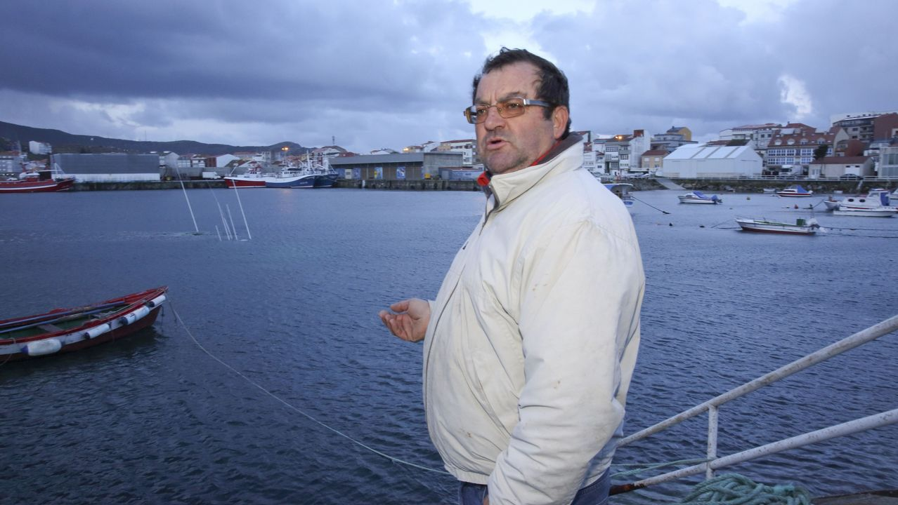 Jose Manuel Perez Roa, patrón del barco hundido