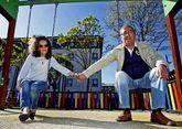 Vidueira y su marido, José Luis Argibay, ganaron en los tribunales el derecho a ver a su nieto.
