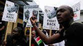 Ciudades de todo el mundo, como Nairobi, en Kenia, se sumaron a la marcha global por los elefantes y rinocerontes
