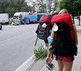Los peregrinos que llegan a Pontevedra ven en O Couto una de sus primeras imágenes de la ciudad.