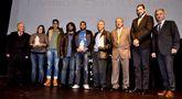 Trala conclusión do acto os premiados e as autoridades fixeron a tradicional foto de familia.
