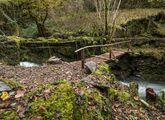 El puente de As Reboleiras, recuperado el año pasado
