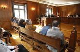 Los acusados llegaron a un acuerdo con el fiscal que rebajó la pena de un año a cuatro meses.