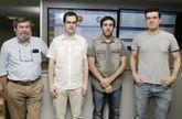 De izquierda a derecha: Carlos Tilve, Jesús Barros, Miguel Ramos y Guillermo Vázquez.