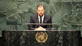 El actor Leonardo DiCaprio, activista por el medio ambiente.