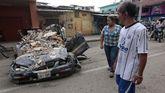 La cooperante viajó a la ciudad de Portoviejo, una de las tres más afectadas por el terremoto